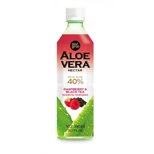 Aloe vera jook, must tee ja vaarikas (Allgroo)