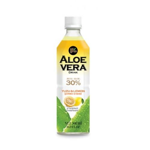 Aloe vera jook, yuzu ja sidrun (Allgroo)
