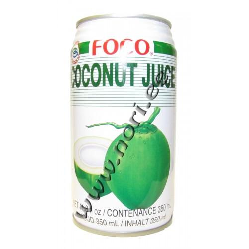 Kookosvesi kookose tükkidega