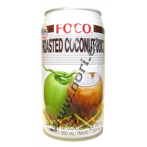 Kookosvesi, röstitud kookose tükkidega