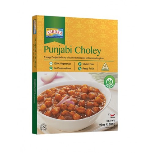Kikerherned karrikastmes (Punjabi Choley)