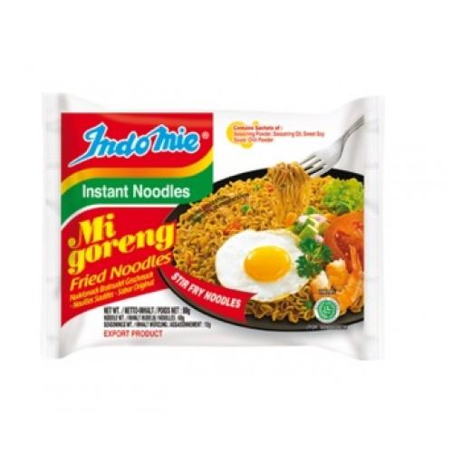 Praetud kiirnuudlid, Mi Goreng, keskmine teravus (Mi Goreng, Fried Noodles)