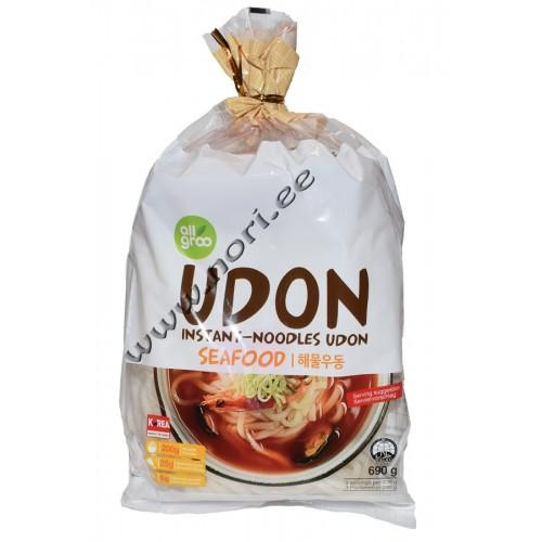 Kiirsupp Udon nuudlid ja mereannid (Allgroo)