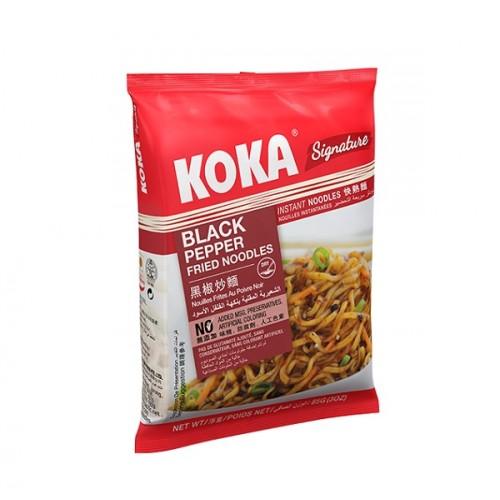 Praetud nuudlid, musta pipraga (KOKA Black Pepper Noodles)