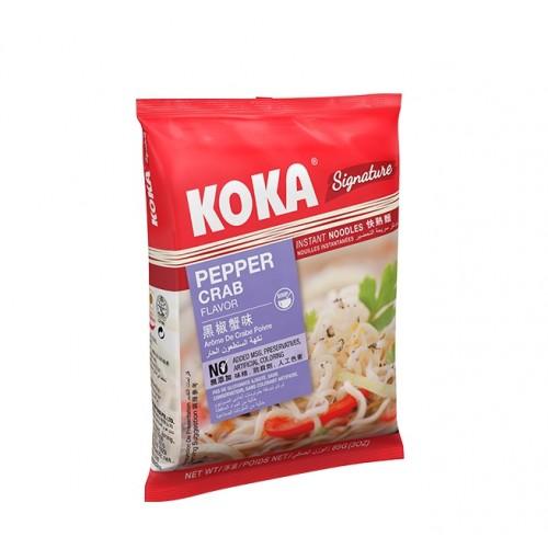 Praetud nuudlid, pipra-krabi (KOKA Pepper Crab)