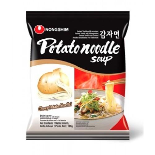 Суп с картофельной лапшой (Potato noodle soup)