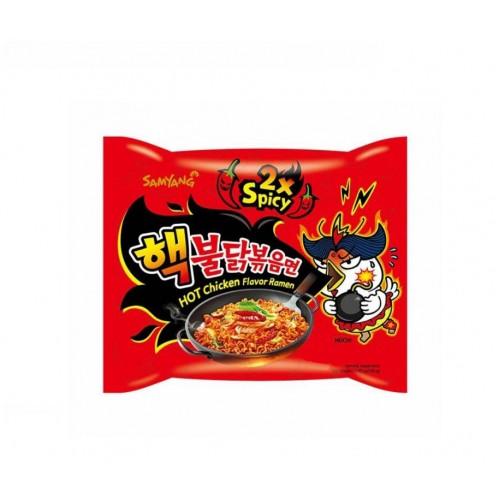 Kiirnuudlid, kanaliha maitsega, super terav (2Spicy Chicken Ramyun)