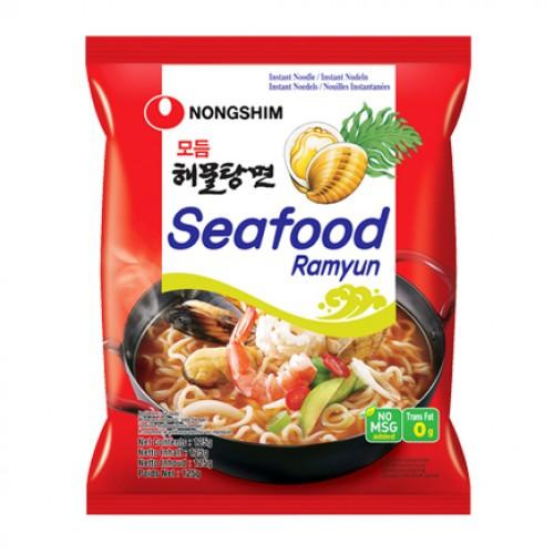 Kiirnuudlid, mereannid, keskmine teravus (Seafood Ramyun)