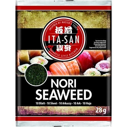 Sushi norilehed, 10 lehte, green (Ita-San)
