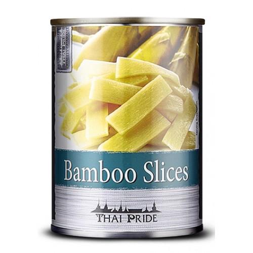 Viilutatud bambusevõrsed