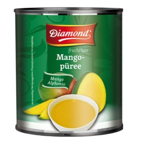 Mangopüree Alphonso