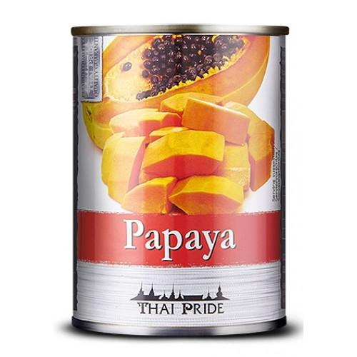Papaya tükid siirupis