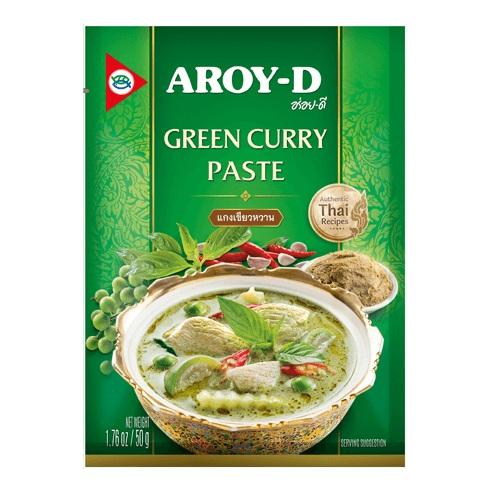 Паста карри, зелёная (Aroy-D)