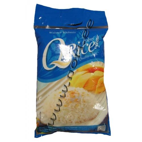 Valge kleepuv riis (Q Rice)