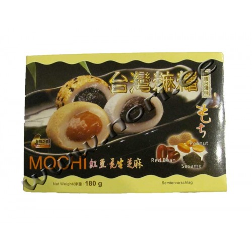 Mochi riisi kommid, erinevad maitsed
