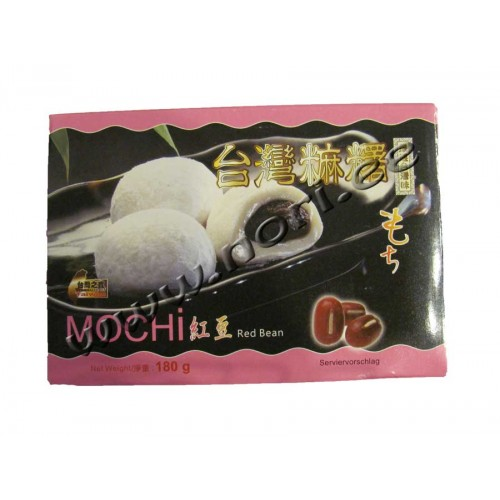 Mochi riisi kommid, punased oad