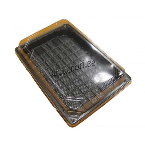Коробка для суши 15 cm x 22 cm (пластик)