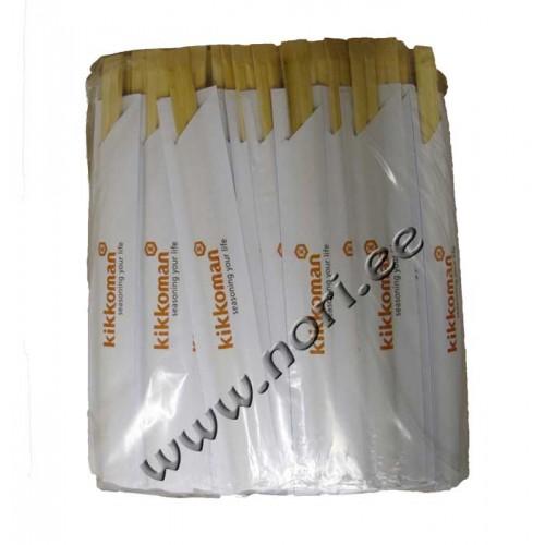 Bambusest söögipulgad (100 paari) kik