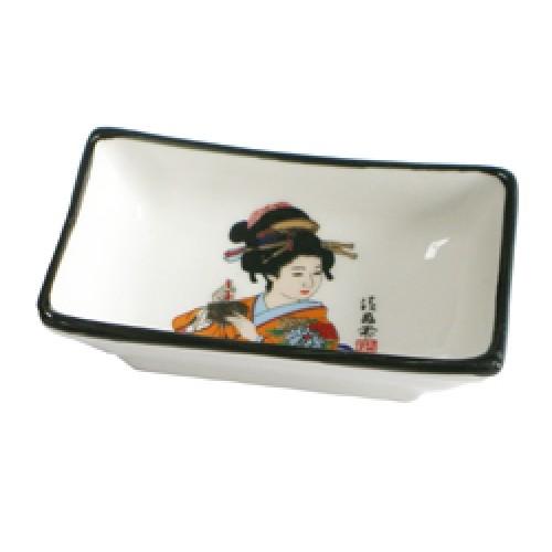 Kastme kauss, valge geisha